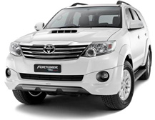 Toyota Fortuner được thiết kế mạnh mẽ vững chắc kết hợp với sự sang trọng