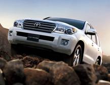 Toyota Land Cruiser đứng đầu trong các dòng xe thể thao đa dụng về khả năng vượt địa hình