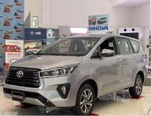 Toyota Innova 2021 được trang bị phần mũi khác biệt với lưới tản nhiệt mạ chrome sắc cạnh cùng những tùy chọn lazăng hợp kim mới