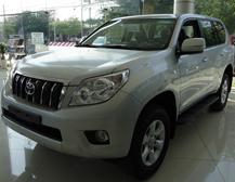 Toyota Land Cruiser Prado thể thao mạnh mẽ và đa năng
