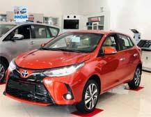 Toyota Yaris thiết kế nhỏ gọn với năm màu chủ đạo thực sự thu hút người tiêu dùng