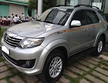 bán xe toyota fortuner 2.7 v 01 cầu năm 2013
