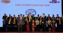 toyota việt nam đoạt giải thưởng rồng vàng 2017
