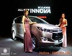 Toyota Innova ấn tượng với lưới tản nhiệt và hốc giớ trên cản va dưới