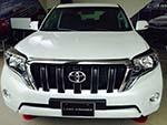 Toyota Land Cruiser Prado ấn tượng với phong cách thể thao và tính năng đa năng